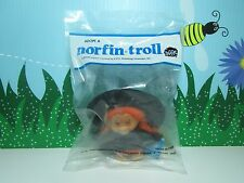 "1985 WITCH WANDA WITH HANG TAG - 3"" Dam Norfin Troll Doll - NEW IN BAG"