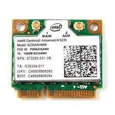 Intel Centrino Advanced-N 6235ANHMW 300M WIFI Bluetooth 4.0 Half MINI PCI-E Card