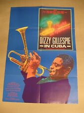 A NIGHT IN HAVANA: DIZZY GILLESPIE IN CUBA Filmplakat Poster Plakat 1989 +