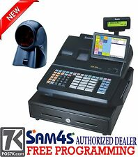 SAM4s SPS-520 RT Hybrid POS Cash Register W/ Free ORBIT Scanner SPS520