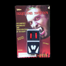 Cool 1 Set Zombie Fang & Blood Pill Halloween Vampire Teeth Props Costume Party