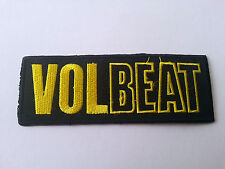 HEAVY METAL PUNK ROCK MUSIC SEW / IRON ON PATCH:- VOLBEAT (a) STRIPE