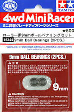 Tamiya Mini 4WD Model Racing 9mm Ball Bearings (2pcs) 15344