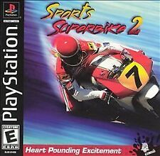 Sports Superbike 2 motorcycle racing NEW sealed PlayStation PSX PS1 ps one