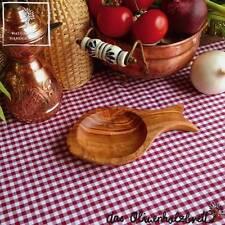 Olivenholz Holz Holzschale Fischform Beilagenschale Schale Schälchen Schüssel