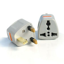 2x OMG Portable US AU EU Europe to UK Power Socket Plug Adapter Travel Converter