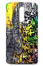 CUSTODIA COVER CASE MURO GRAFFITO HIP HOP PER LG G3 D855