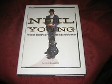 Neil Young : The Definitive History by Mike Evans (2012, Hardcover)