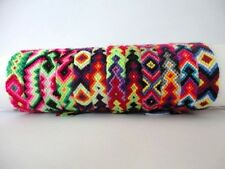 10 Peruvian Wool Friendship Bracelets Cusco Handmade Mixed Models New Art Peru