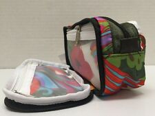 NWT LeSportsac Kevyn Double Zip Travel Cosmetic Boca Chica Green $32