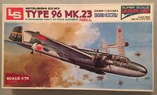 LS 1:72 Mitsubishi G3 M3 Type 96 Mk.23 Japanese Navy Attack Bomber Nell #A502