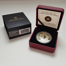 2013 $20 Fine Silver Coin - Canadian Maple Canopy (Spring)