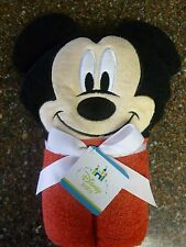 Disney Baby Mickey Mouse Hooded Towel for Baby 27 X 37 NWT Great Gift