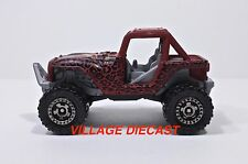 2010 Matchbox #99 MBX® 4x4 MATTE RED/PANTHERA TRACKERS/MINT