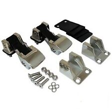 JEEP CJ WRANGLER YJ 87 - 95 TJ STYLE STAINLESS STEEL HOOD CATCH SET
