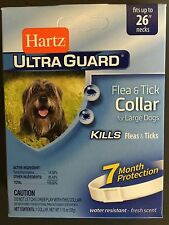 6 Pack Ultra Guard Large Dog Flea & Tick Collars by Hartz 81169
