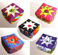 FOLDED STAR PIN CUSHION KIT CUTTING GUIDE, From PlumEasy Patterns NEW