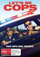 Let's Be Cops (DVD, 2015, Region 4, Like New) g12