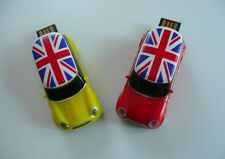 Austin MINI COOPER Jaune Clé USB Automobile Flash drive English 64Gb USB-Stick