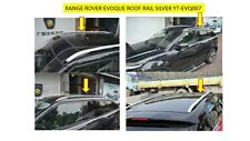 ROOF RAILS - TO FIT  EVOQUE COLOUR SILVER- YT-EVQ007-S  LRX006E  YT-EVQ007P