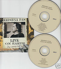 KRISHNA DAS Live on Earth (For a Limited Time Only) 2-DISC CD 2002 FREE SHIPPING