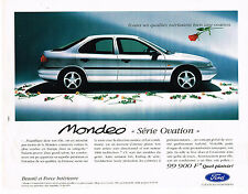 PUBLICITE ADVERTISING 015  1995  FORD MONDEO  série OVATION