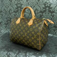 Rise-on LOUIS VUITTON MONOGRAM SPEEDY 30 Handbag Satchel Purse #465