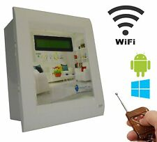 Android/Windows/WIFI/REMOTE Based Home Automation (4 devices) LCD DISPLAY