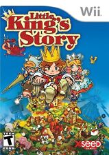 Little King's Story (Nintendo Wii Video Kids Game Xseed Dragons EPIC FUN) NEW