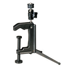 New Mini Portable Swiveling C-Clamp Tripod Stand for Camera Camcorder DSLR