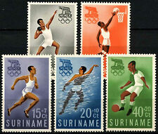 Suriname 1960 SG#471-5 Olympic Games MNH Set #D34371