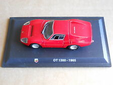Leo Models CAR DIE CAST ABARTH 1:43 NEW - FIAT ABARTH OT 1300 1965 [MV-3 ]