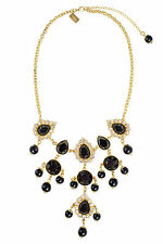 68.00 LILLY PULITZER SWEETHEART NECKLACE BLACK ONYX BAUBLE NWT GEMS & STONES
