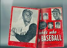 1966 WHO'S WHO IN BASEBALL Sandy Koufax cover, Roberto Clemente Back