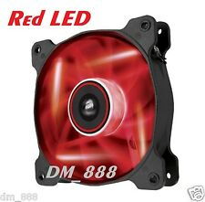 Corsair Air Series AF120 LED Quiet Edition High Airflow Case Fan Red LED 120mm