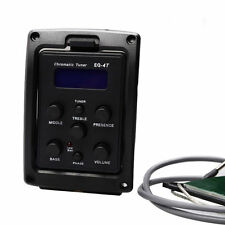 General EQ-4T 4 Band Pickup EQ Preamp with Tuner For Acoustic Guitar