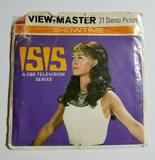 1976 Filmation View-Master ISIS CBS Television Series T100 3 Reel Set + Booklet
