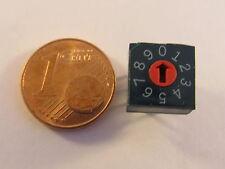5 Stück - OTAX KDR10 Miniatur BCD Codierschalter Horizontal Montage - AE20/1014