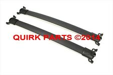 2010-2014 Chevy Equinox & GMC Terrain Ebony Black Roof Rack Cross Rails OEM NEW