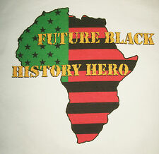 Black History Hero Tee Youth XS African American Heritage T new atbh1