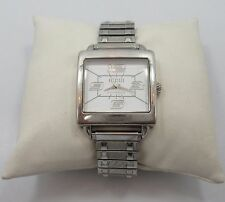 ECCLISSI Sterling silver wrist watch stainless steel band  QUARTZ 23285