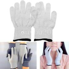 New Conductive Electrotherapy Massage Electrode Gloves Use For Tens Machine