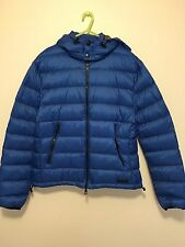 New Men's Burberry Brit Mitchson Down Jacket With Removable Hood Size L $595