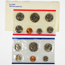 1981 United States US Mint Uncirculated Coin Set  SKU1389