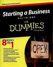 Starting a Business All-in-One for Dummies by Consumer Dummies Staff (2015,...