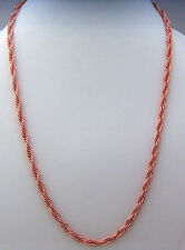 "Copper Neck Chain Necklace 24""  Wheeler Sunrise Healing Arithitis Pain cn 004"