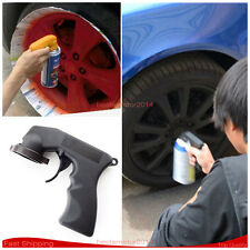 ON SALE! BLACK CAN GUN AEROSOL SPRAY CAN HANDLE WITH FULL GRIP TRIGGER CAR PAINT