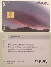 Scheda PhoneCard Switzerland Svizzera 2000