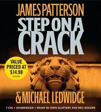 STEP ON A CRACK BY JAMES PATTERSON - GREAT AUDIO BOOK WITH FREE SHIPPING