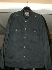 JEREMIAH Men's Navy Blue Military Style Jacket XXL